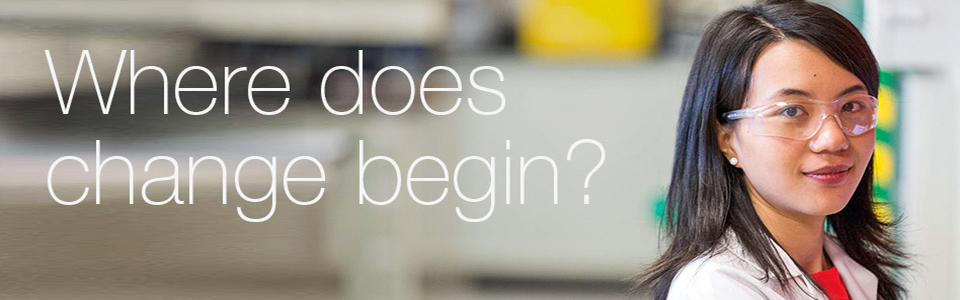 We believe change starts inside